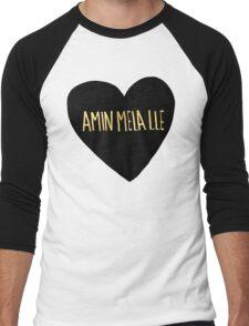 "Amin Mela Lle: ""I Love You"" in Elvish Men's Baseball ¾ T-Shirt"