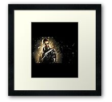 deus ex mankind divided Framed Print