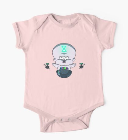 Time Baby One Piece - Short Sleeve