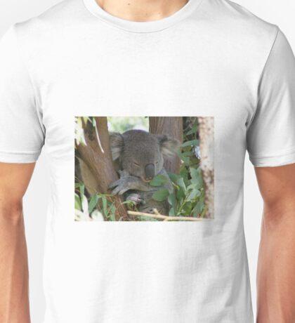 Napping Koala Bear Unisex T-Shirt