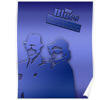 The Blues Brothers Classic Blue Poster
