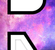 Rutgers Logo Galaxy Sticker