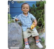 Boy and Favorite Toys iPad Case/Skin