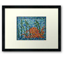 octopus garden Framed Print