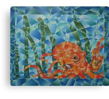 octopus garden Canvas Print