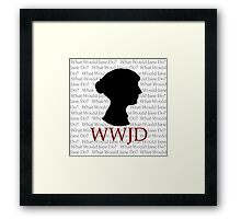 What Would Jane Do Framed Print