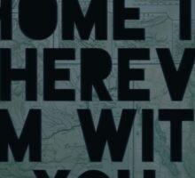 Home III Sticker