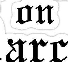 Dibs on Darcy Sticker