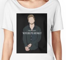 Luke Hemmings Rolling Stones Article Women's Relaxed Fit T-Shirt