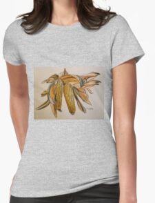 Drying sweetcorn, Italy pen and wash 2010 T-Shirt