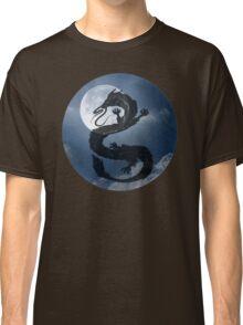 Dragon Haku Spirited Away night sky Classic T-Shirt