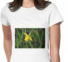 Tete s Tete Daffodil Womens Fitted T-Shirt
