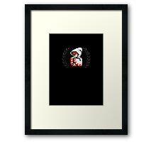 White Mage - Sprite Badge Framed Print