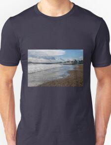 Lyme Regis Seascape 3 - January 2016 Unisex T-Shirt