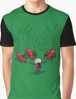 Ant Training Graphic T-Shirt
