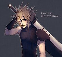 Remake Cloud Strife by xradiosity