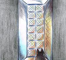 Night Cat by Teresa White