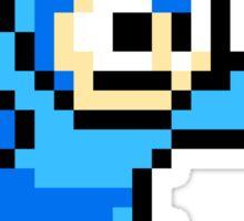 Mega Man Pixel Art Sticker