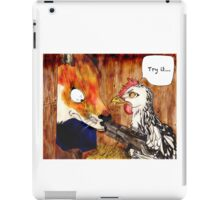 Clucked  iPad Case/Skin