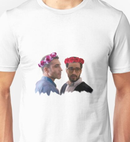 lito and hernando with flower crown Unisex T-Shirt
