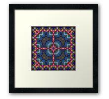 Fractal Interlink No3 Framed Print
