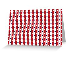 Stars & Stripes | Red, White & Blue Greeting Card