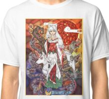 Stained Glass Okami Classic T-Shirt