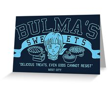 Bulma's Sweets Greeting Card