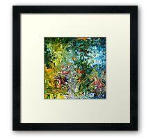modern composition 31 by rafi talby Framed Print