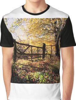 Autumn Gate Graphic T-Shirt