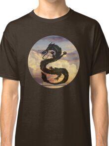 Dragon Haku Spirited Away clouds Classic T-Shirt