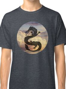 Dragon Haku Spirited Away clouds Classic T-Shirt