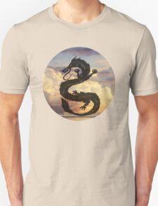 Dragon Haku Spirited Away clouds T-Shirt