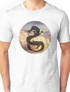 Dragon Haku Spirited Away clouds Unisex T-Shirt