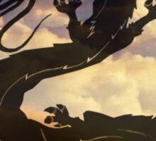 Dragon Haku Spirited Away clouds Sticker
