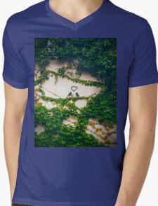 Birds Couple Mens V-Neck T-Shirt