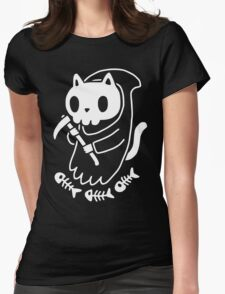 Reaper Cat Womens Fitted T-Shirt