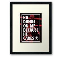 Dunk Me Framed Print