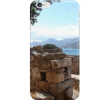 The Ruins of Spinalonga iPhone Case/Skin