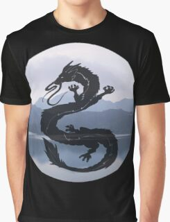 Dragon Haku Spirited Away blue Graphic T-Shirt