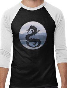 Dragon Haku Spirited Away blue Men's Baseball ¾ T-Shirt