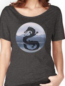 Dragon Haku Spirited Away blue Women's Relaxed Fit T-Shirt