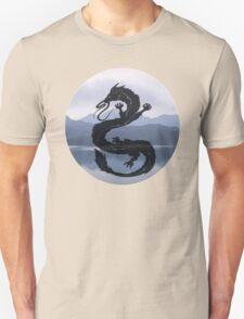 Dragon Haku Spirited Away blue T-Shirt