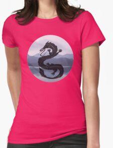 Dragon Haku Spirited Away blue Womens Fitted T-Shirt