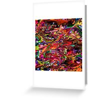 modern composition 34 by rafi talby Greeting Card
