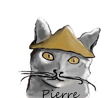 Pierre the Artist Cat  by schiabor
