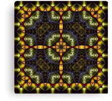 Fractal Interlink No4 Canvas Print