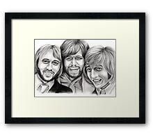 Bee Gees Framed Print
