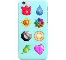♥♥♥ POKEMON INDIGO LEAGUE GYM BADGES PATTERN ♥♥♥ iPhone Case/Skin