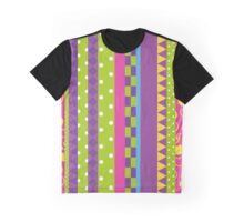 Battle Tendency Stripe  Graphic T-Shirt